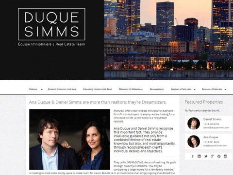 Montreal Copywriting Portfolio Duque-Simms