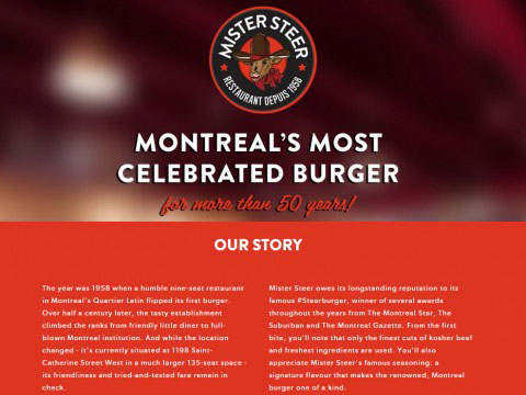 Montreal Copywriting Portfolio Mister Steer