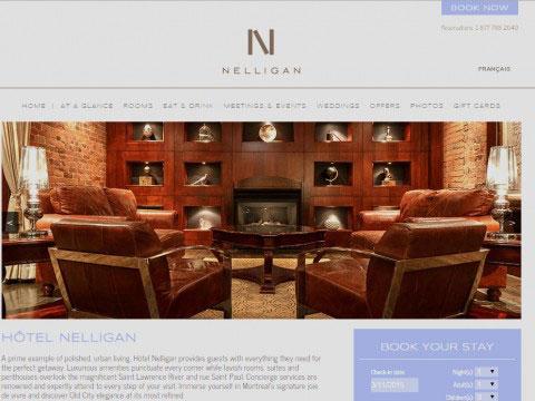 Montreal Copywriting Portfolio Hotel Nelligan